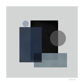Square and Circle Abstract