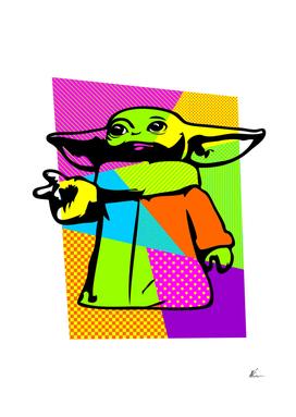 The Child | Baby Yoda | Mandalorian | Pop Art