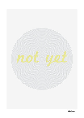 Not yet - 12th of March