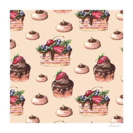 Mix Berry Cakes