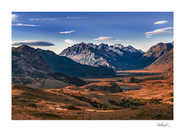Aconcagua Park Landscape, Mendoza, Argentina