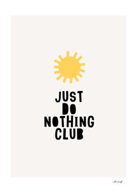 Do Noting Club