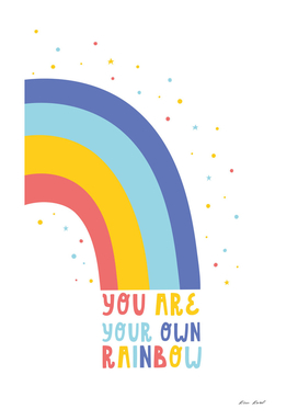 Be your own rainbow