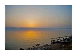 DEAD SEA AMAZING SUNSET