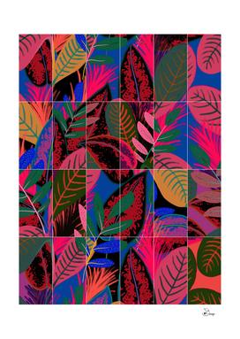 Tropical Neon Tiles