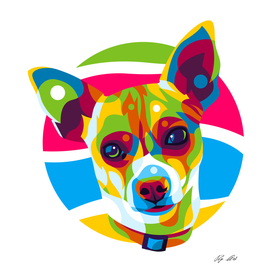 The Colorful Chihuahua Puppy