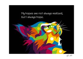 The Hopeful Cat