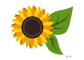 Sunflower Minimalist