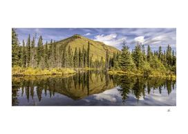 Mountain Reflects