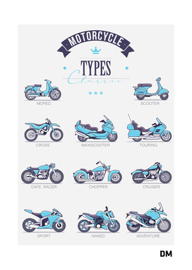 Classic Motorcycle Types
