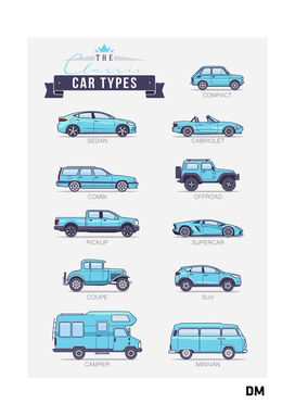 Classic Cars Types