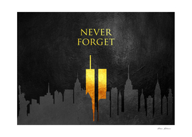 Never Forget 911 Gold Edition