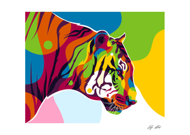 The Colorful King Tiger Inside