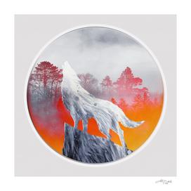 Artistic XL - Red Moon - Snow Wolf / NE