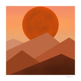 Twilight Mountains