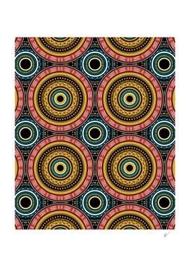 Geometry Aztec Mandala