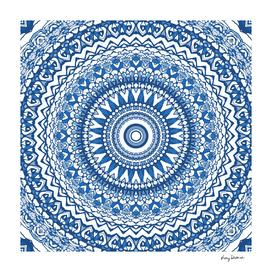 Indigo Blue Mandala
