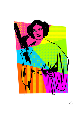 Princess Leia | Star Wars | Pop Art