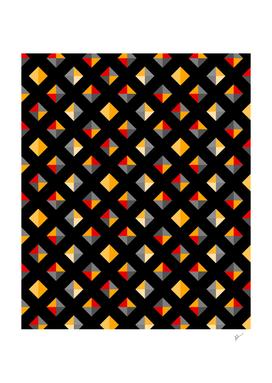 Geometric Diamond Tile
