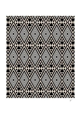 Abstract Boho Style Geometric