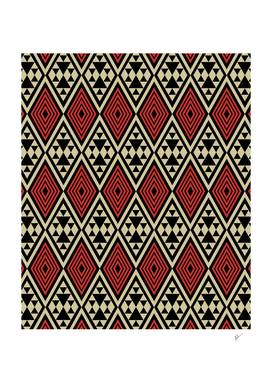 Motif Boho Style Geometric