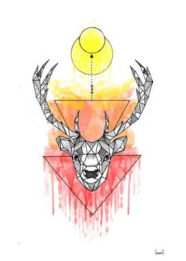 Animal Collection (Deer Watercolor)