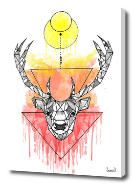 Animal Collection (Deer Watercolor)