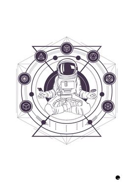 Meditation Astronaut