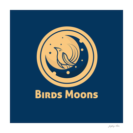 Birds stay Moon