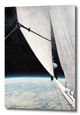 Sailing in space ...