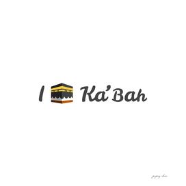I love Ka'bah