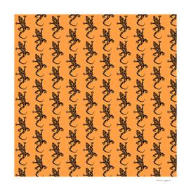 Gecko Pattern Beige
