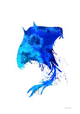 Ocean Blue Stingray