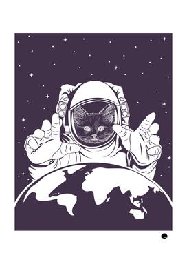 Astronaut Cat