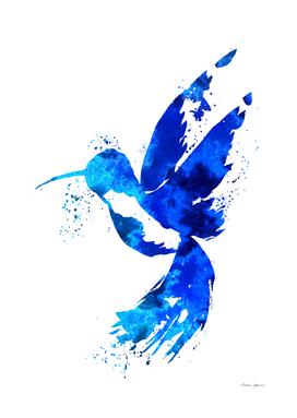 Ocean Blue Hummingbird