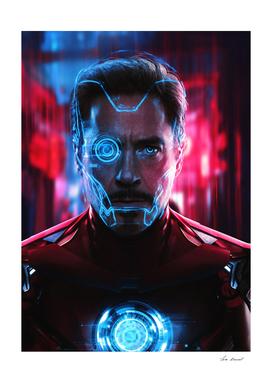 Cyberpunk Iron man