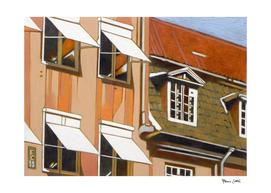 windows in Norreport, Copenaghen