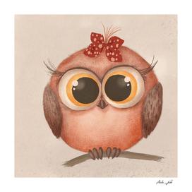 Woodland Nursery - Baby Owl