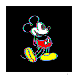 Mickey Mouse | Outline | Pop Art