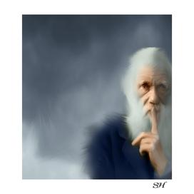 Charles darwin's digital art