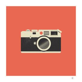 Vintage Camera - Red