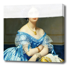 Altered Art Portrait