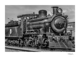 Steam Locomotive, Montevideo, Uruguay