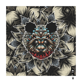 Panda pattern Color