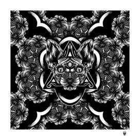 Sphynx pattern bw