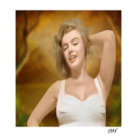 Marilyn monroe fantasy art