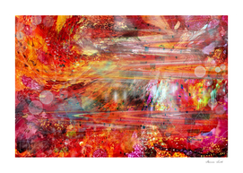 Science Fiction Fantasy Abstract Galaxy Universe Space Scene