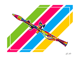 RPG-7 Bazooka Pop Art