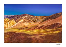 Colored Mountains Landscape, La Rioja, Argentina
