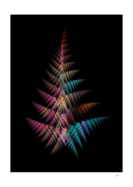 christmas tree fractal art